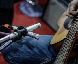 Guitar mics